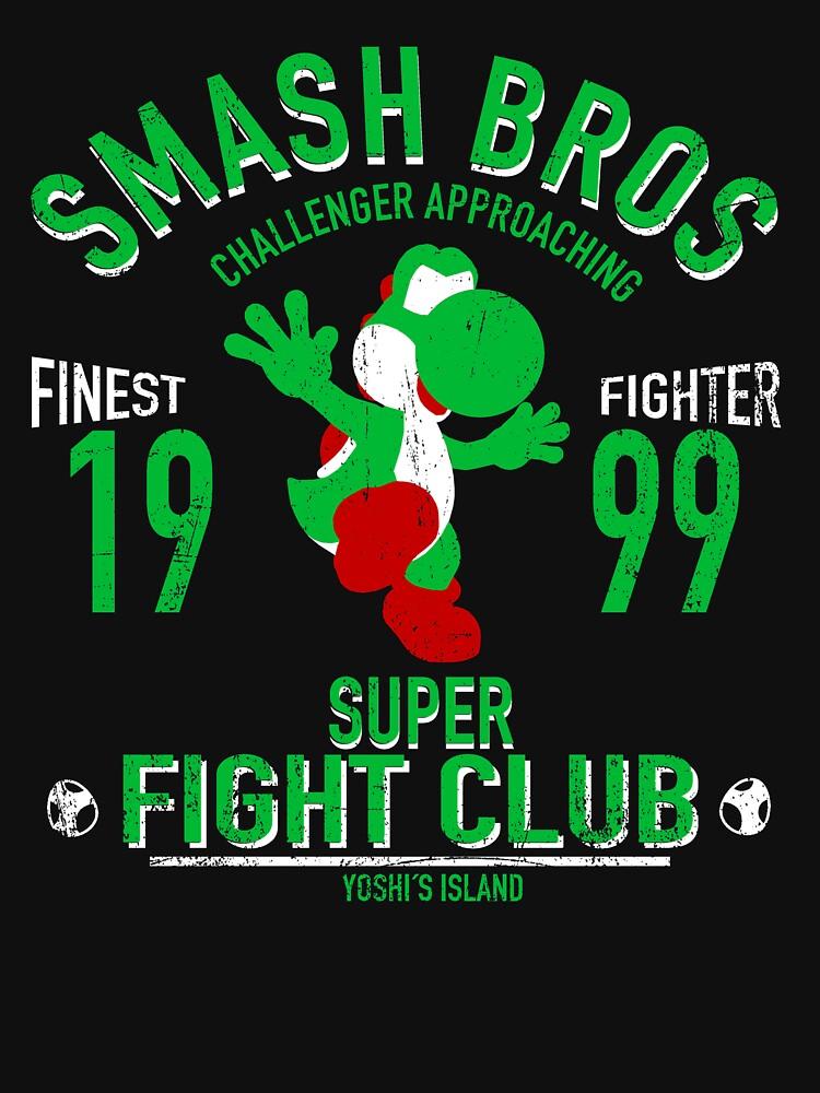Yoshi Island Fighter | Unisex T-Shirt