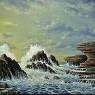 OIL PAINTING No 2 by JOHN COCORIS