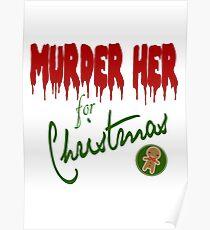 Murder Her For Christmas Poster