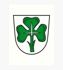 Fürth coat of arms, Germany Art Print