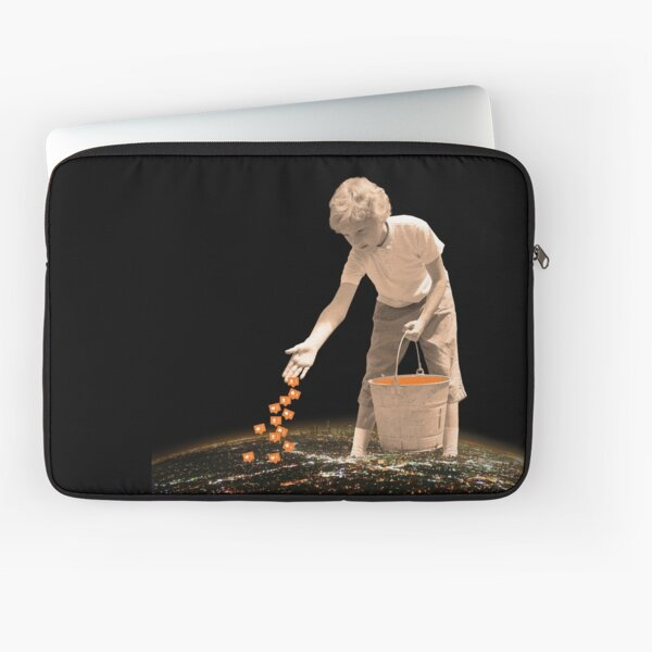 You are going to reap just what you sow Laptop Sleeve