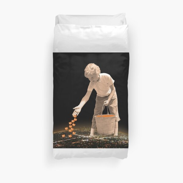 You are going to reap just what you sow Duvet Cover