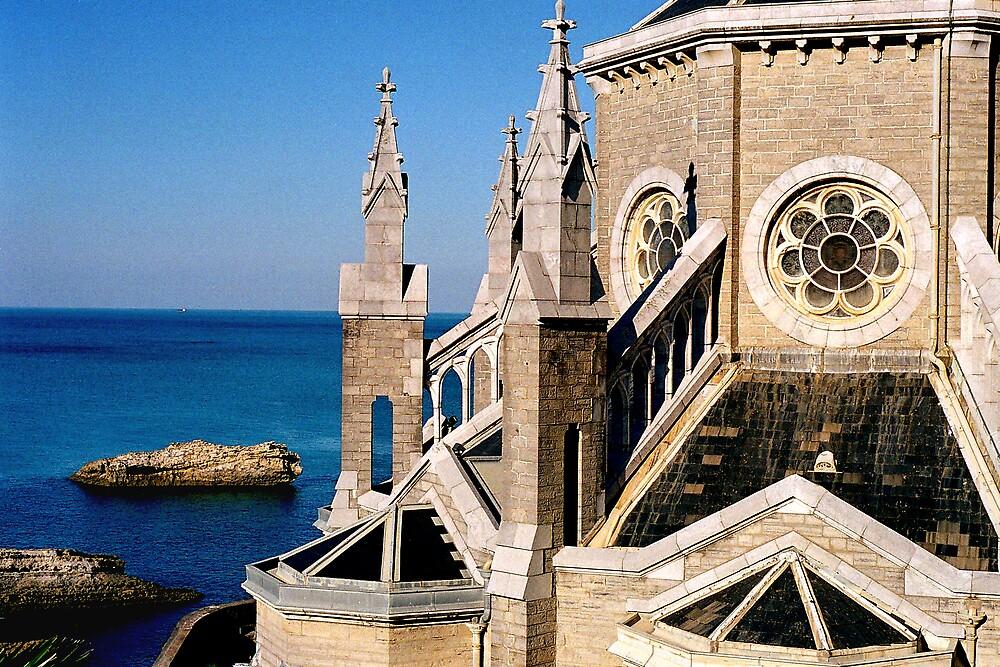 L' église Sainte Eugénie by zoespeak