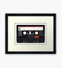 CASETTE TAPE Framed Print
