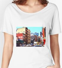 NYC LOVE Women's Relaxed Fit T-Shirt