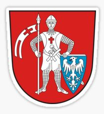 Bamberg coat of arms Sticker