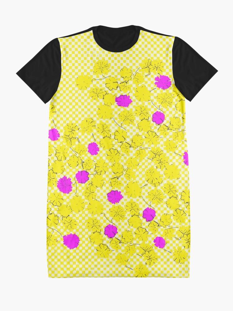 Alternate view of Morning Glory Graphic T-Shirt Dress