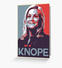 Knope  Greeting Card