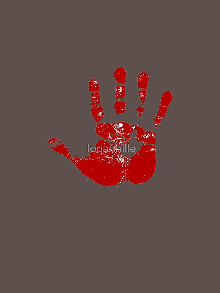 Red hand by loganhille