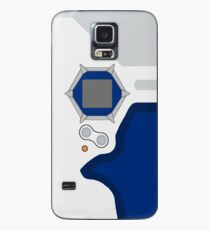 D-tector phone | Navy and white version Case/Skin for Samsung Galaxy