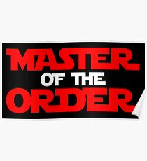 Master of the Order Poster