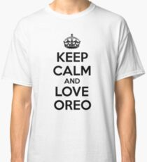 Keep Calm And Love Oreo Classic T-Shirt