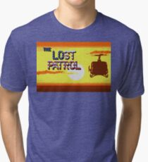 Lost Patrol Pixel Art Tri-blend T-Shirt