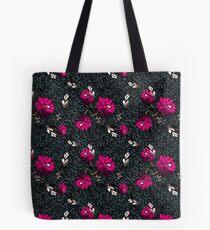Wallpaper pattern design Floral Mecha 6 Edouard Artus Tote Bag