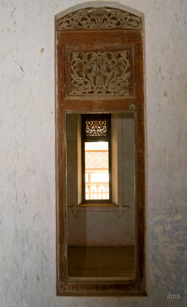 Light at the end of the window by ibba