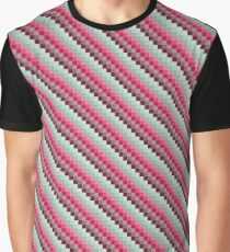 Colorful Retro Pattern 3 Graphic T-Shirt
