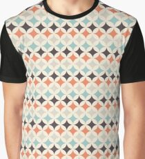 Colorful Retro Pattern 4 Graphic T-Shirt