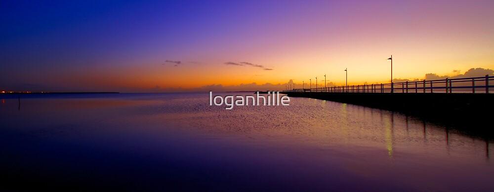 Wynnum Pier by loganhille