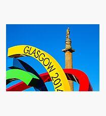 Glasgow 2014 Big G Photographic Print