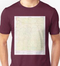 USGS TOPO Map Florida FL Deep Creek 345794 1961 24000 Unisex T-Shirt
