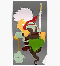 Bastion Minimal Art  Poster