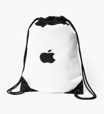 APPLE LOGO Drawstring Bag