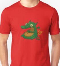 Fluff the Dragon Unisex T-Shirt