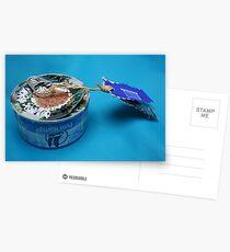 Mail art = Tuna Box, Tuna Book ! Postcards