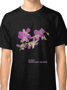 Orchid: Phalenopsis equestris Classic T-Shirt