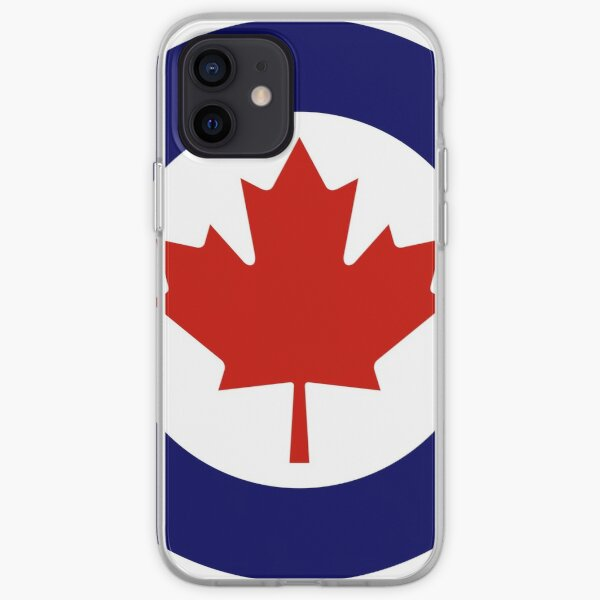 Roundel of the Royal Canadian Air Force iPhone Soft Case