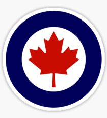 Roundel of the Royal Canadian Air Force Sticker