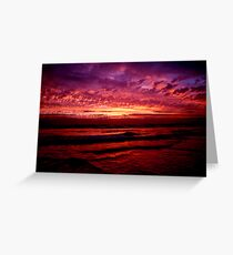 Canunda sky Greeting Card