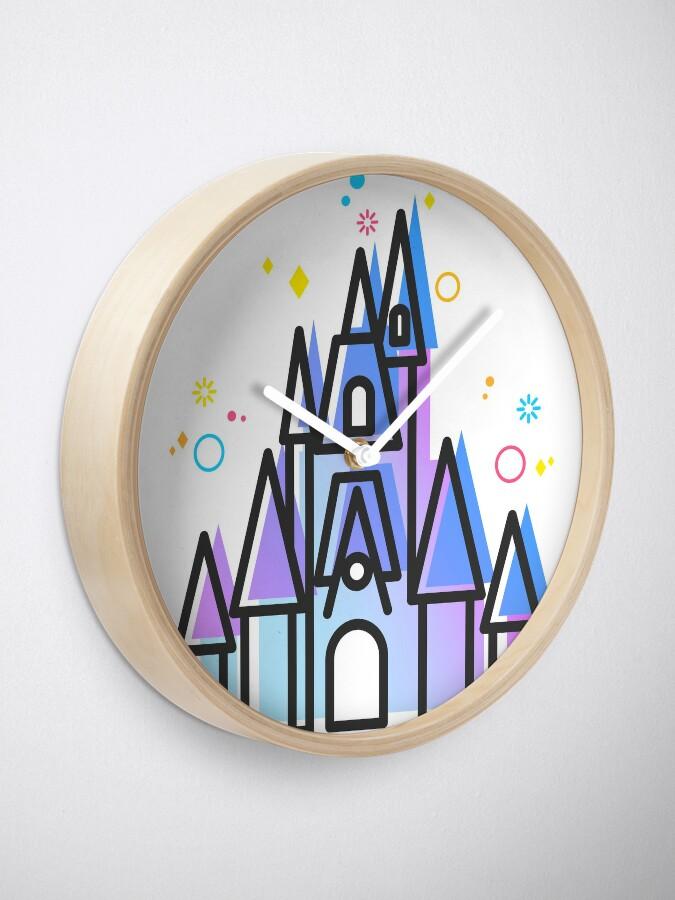 Alternate view of Magic Fairytale Princess Castle Kingdom Clock