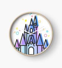 Magic Fairytale Princess Castle Kingdom Clock