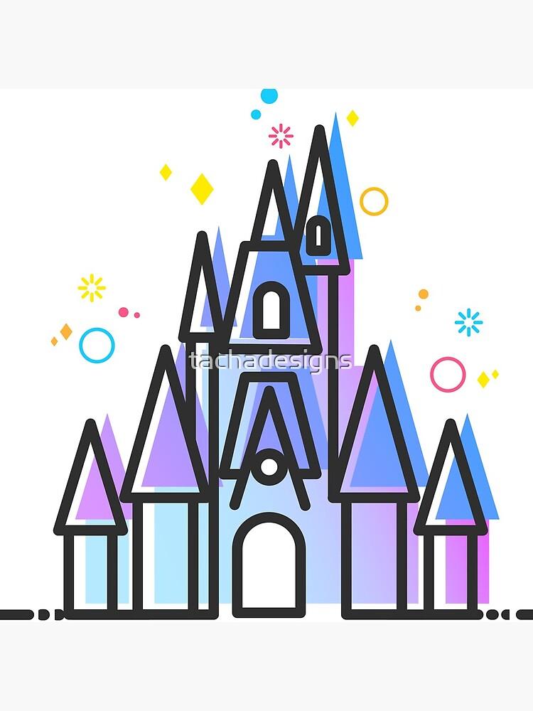 Magic Fairytale Princess Castle Kingdom by tachadesigns