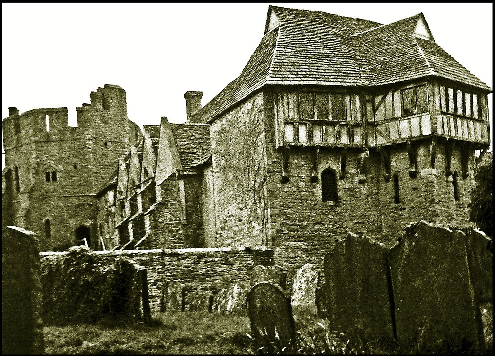 Stokesay Castle by avocet