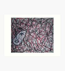 Inside The Mind Of A Woman Art Print