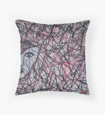 Inside The Mind Of A Woman Throw Pillow