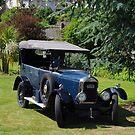Vintage Singer Car by lezvee