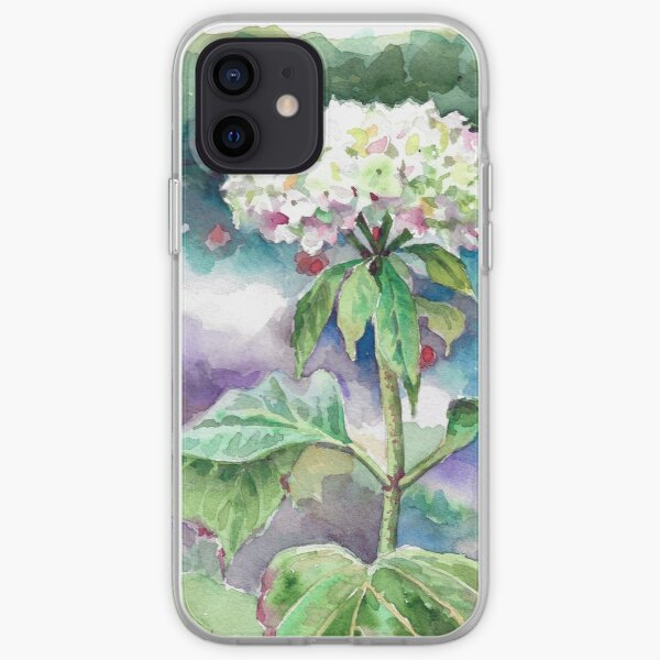 Irish Hydrangea iPhone Soft Case