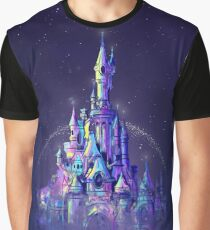 Magic Princess Fairytale Castle Kingdom Graphic T-Shirt