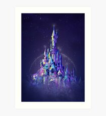 Magic Princess Fairytale Castle Kingdom Art Print
