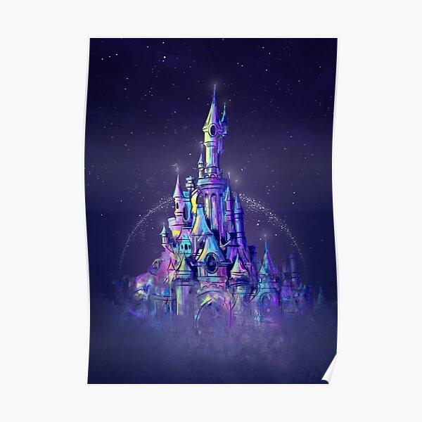 Magic Princess Fairytale Castle Royaume Poster