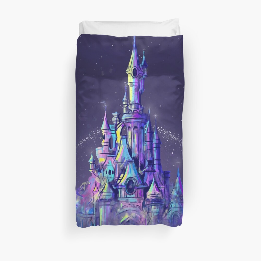 Magic Princess Fairytale Castle Kingdom Duvet Cover