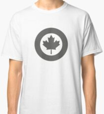 Low Visibility Roundel of the Royal Canadian Air Force  Classic T-Shirt