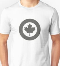 Low Visibility Roundel of the Royal Canadian Air Force  T-Shirt