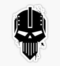 Iron Warriors Space Marine Legion - Warhammer 40k Sticker