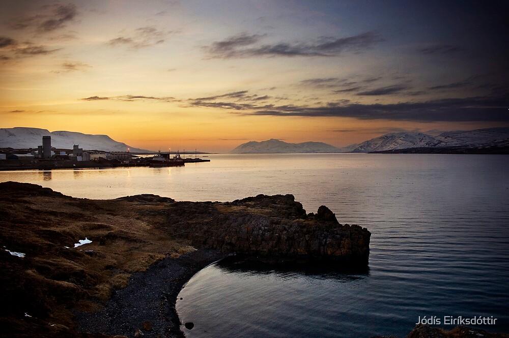 Sunset by the Sea by Jódís Eiríksdóttir