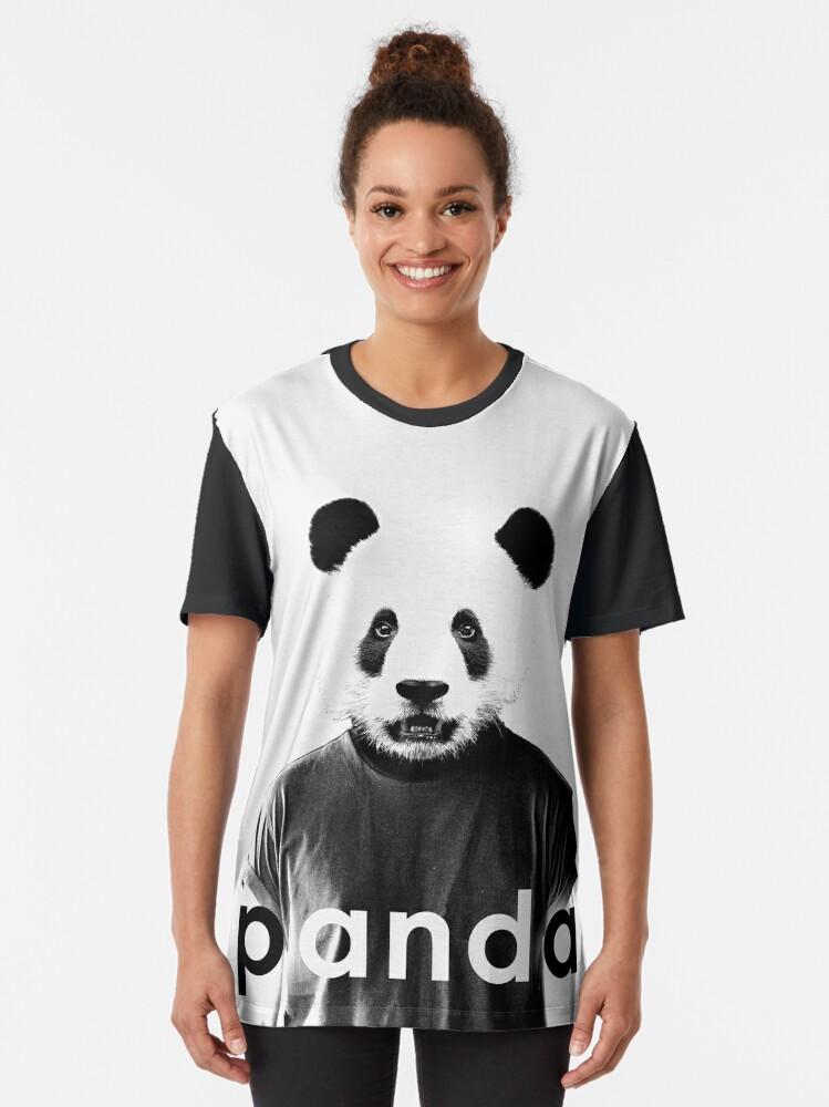 Alternate view of JACK BUCK PANDA OFFICIAL MERCH Graphic T-Shirt