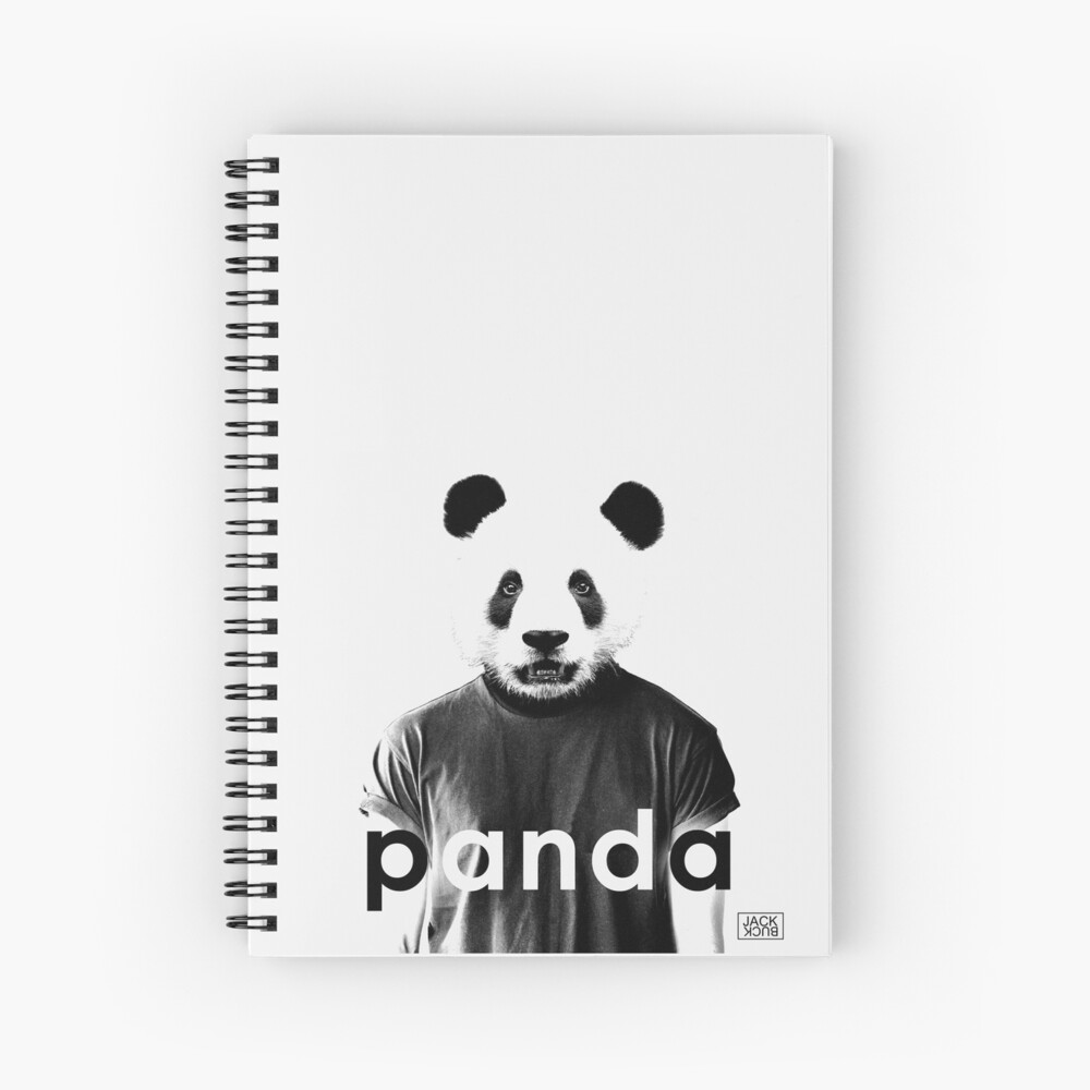 JACK BUCK PANDA OFFICIAL MERCH Spiral Notebook